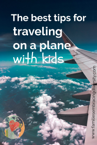 Travleing on an airplane with kids can be hard. Use these tips to make your next trip a breeze...or at least easier.