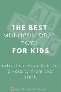 Check out the best multicultural toys for all ages to start exposing your child to diversity from the beginning and give them the tools they need to be an empathetic, accepting child from the start. #multicultural #diversity #education