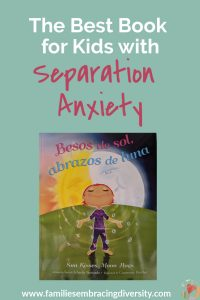 If your child struggles with separation anxiety or misses a loved one who lives far away, this book is for you. Find tips and activities to help overcome separation anxiety and a review of this beautiful book. #ReadYourWorld #separationanxiety #multiculturalkids