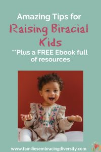 If you are raising a biracial or mixed race child, you don't want to miss these awesome tips for raising biracial kids from mixed up mama. You'll find everything you need for your biracial baby to grow into a confident adult. #biracial #mixedrace #multicultural